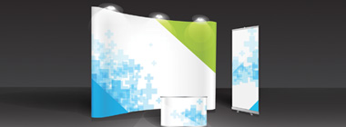 Express banners and pop up systems